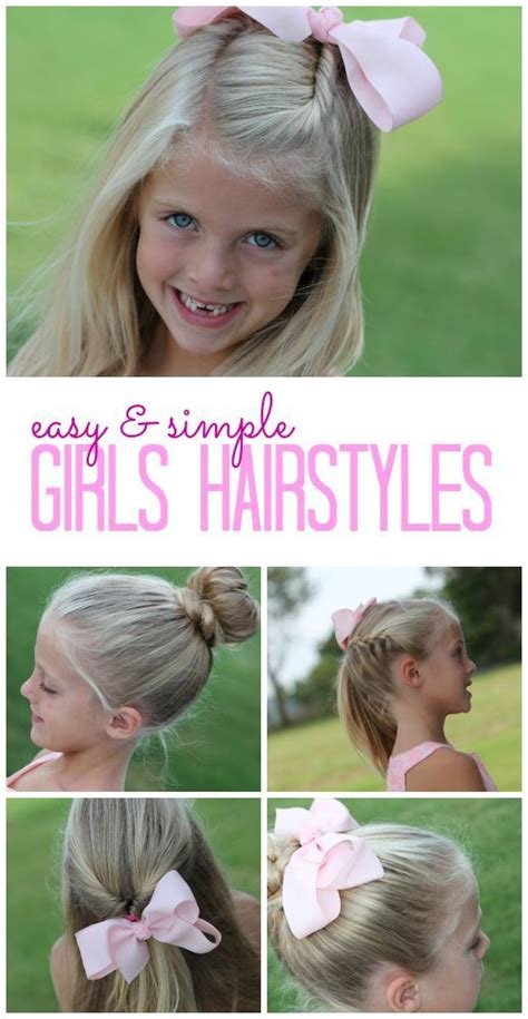 hairstyles to do before school easy and simple girls hairstyles diy tutorials and easy