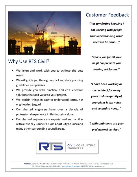 rts civil consulting engineers company profile