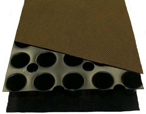 Roof Drainage Mat by Green Roof Materials From The Bottom Up Green Roof Plan