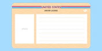 Uk Driving License Template by Us Blank Driving License Template Us Blank Driving License