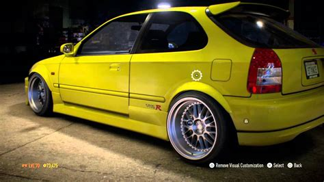 honda stance need for speed stance honda civic