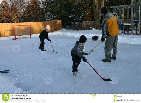 backyard hockey download backyard hockey stock photo image 1048520
