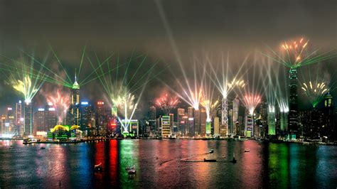 Outdoor Lighting Hong Kong 2 Symphony Of Light Hong Kong Laservision