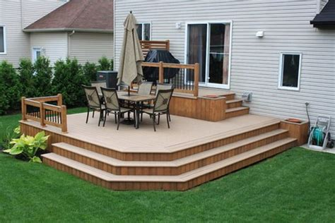 Modern Patio Deck Hall Landscape Pool Decks Patio Deck Designs