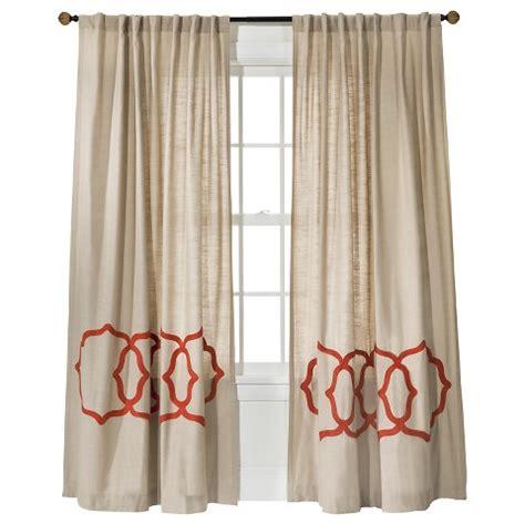 target curtains threshold fretwork border curtain panel target