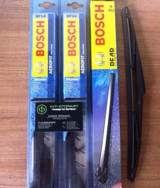 Wiper Blade Jazz Rs Wiper Jazz Rs Bosch Original jual harga wiper blade bosch aerofit frameless front