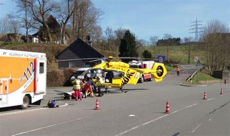 Unfall Motorrad 236 by Motorradfahrerin Bei Unfall In Leinschede Schwer Verletzt