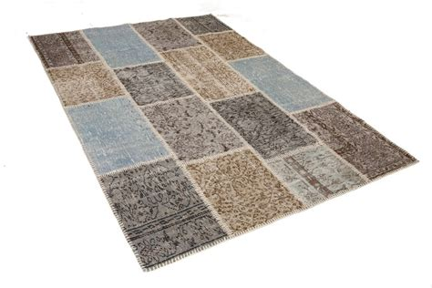 tappeto vintage tappeto vintage patchwork azzurro grigio with tappeto vintage