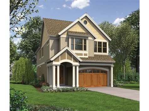 house plans narrow lot narrow lot house plans with front garage narrow lot house