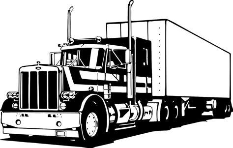 Semi Truck Stickers