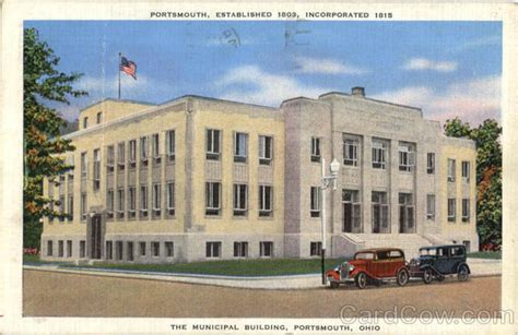 Portsmouth Municipal Court Search The Municipal Building Portsmouth Oh