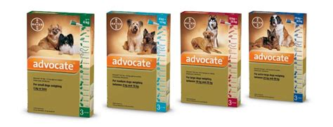 Advocate Xl For Dogs 25 40 Kg 1 Obat Kutu Anjing advocate 174 advocate 174 for dogs comes in 4 sizes
