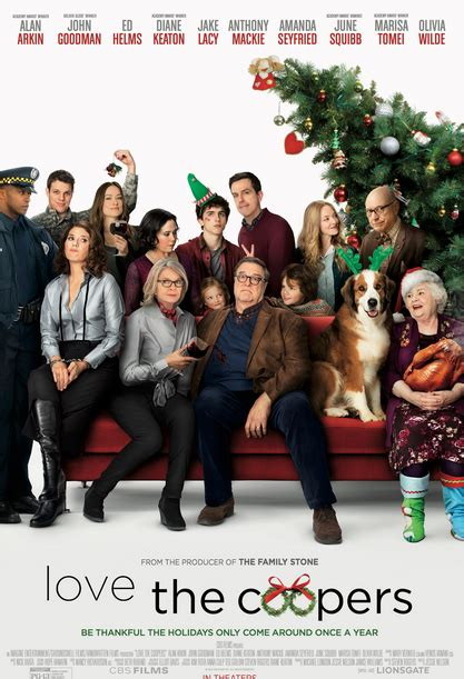 film natal terakhir sinopsis love the coopers 2016sinopsis
