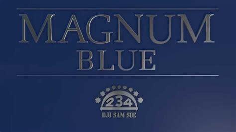 Dji Sam Soe Magnum 1 Slop magnum blue