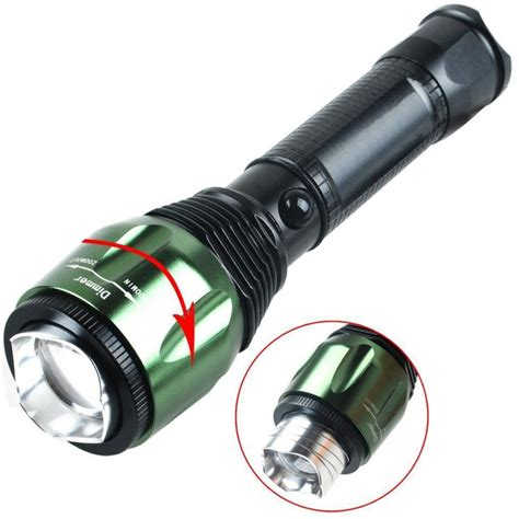 Battery Q One Bst 24 T200 High Quality led light hight power q5 led cree metal version