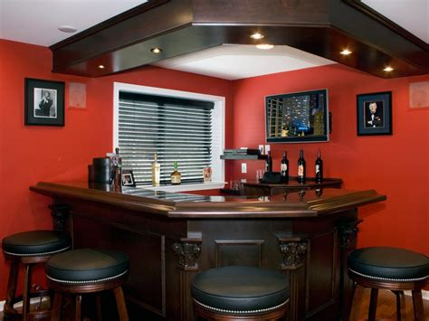 Home Basement Bar Solving Basement Design Problems Hgtv