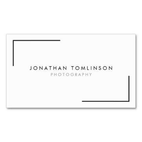 Picture Frame Business Card Template by 50 Best Business Cards For Photographers Images On