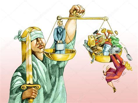 imagenes de mujer justicia en la balanza de la justicia para los hombres y las