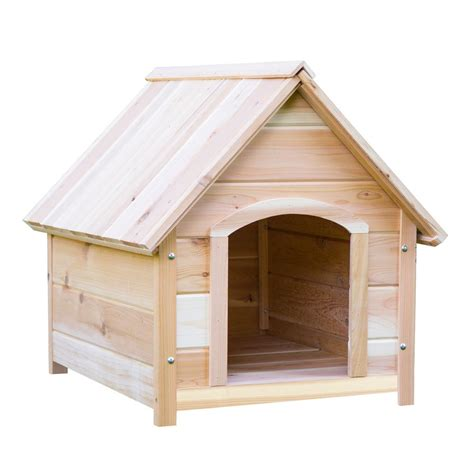 dog house kits home depot builder s choice medium 38 in x 30 in x 33 in western red cedar dog house kit
