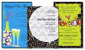 New Year's Eve Invitations