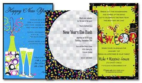 new years invite wording new years invitation wording template best template