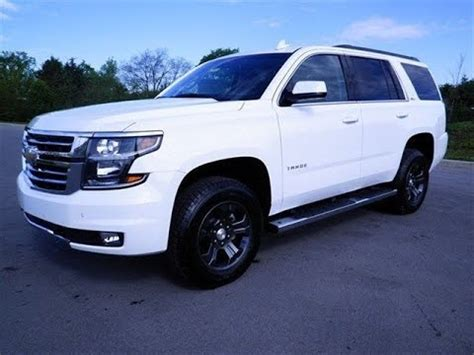 2015 chevrolet tahoe lt z71 4x4 off road package review