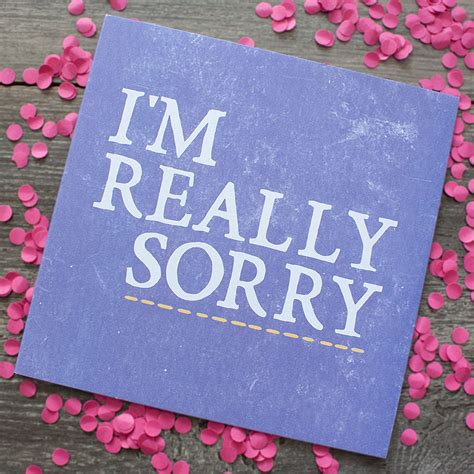 how to make sorry cards really sorry card by zoe brennan notonthehighstreet