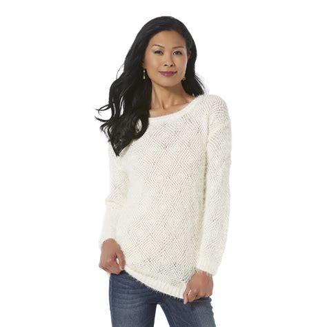 boat neck tunic sweater jaclyn smith women s boat neck tunic sweater clothing