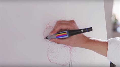 pen that scans color scribble pen lets you draw in any color simply by scanning