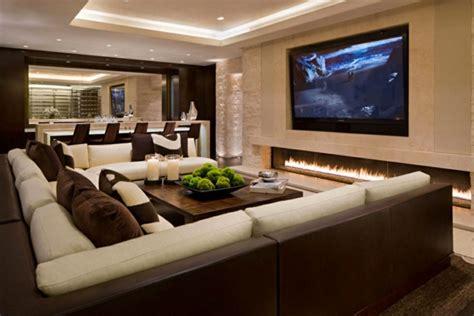 heimkino design sofa im heimkino 30 originelle vorschl 228 ge