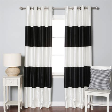 block out curtain extra wide blackout curtains homesfeed
