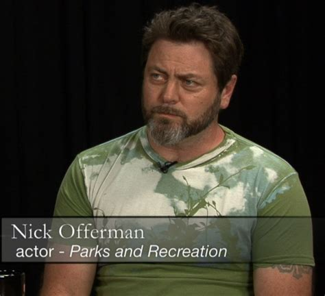 ron swanson tattoo nick offerman swanson has tattoos