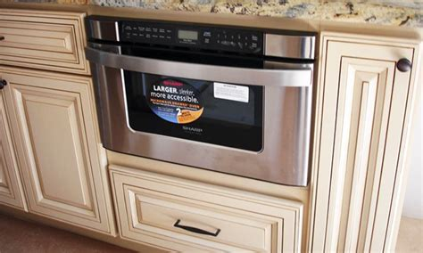 Microwave With Oven Drawer by Built In Microwave Cabinet Options Cabinetry Details