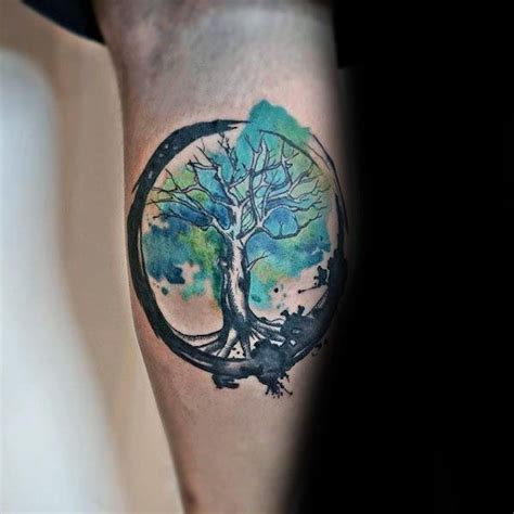 tree of life tattoo for men 41 best watercolor tree images on