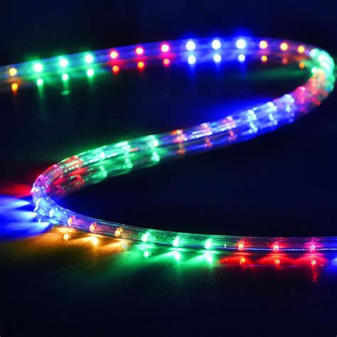 Outdoor Led Lighting Uk Delight Led Rope Light Waterproof Garden Outdoor Indoor 12m 42m Uk Ebay