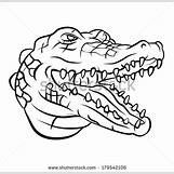 Alligator Mouth Open Drawing | 450 x 439 jpeg 39kB