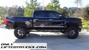 lifted 2016 chevy silverado 1500 ltz black widow