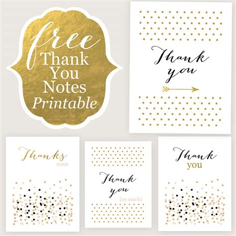 Free Template For A Small Thank You Card by Thank You Cards Free Printable