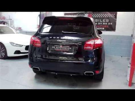 Porsche Cayenne Diesel Sound by Echappement Active Sound Cargraphic Sur Porsche Cayenne