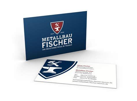 Visitenkarten Doppelseitig by Metallbau Fischer Visitenkarte 1280x950px Commtools