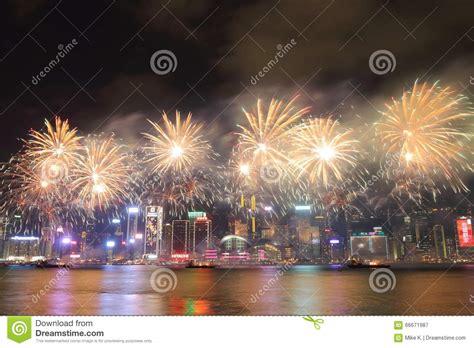 harbour hong kong new year hong kong new year fireworks display 2016