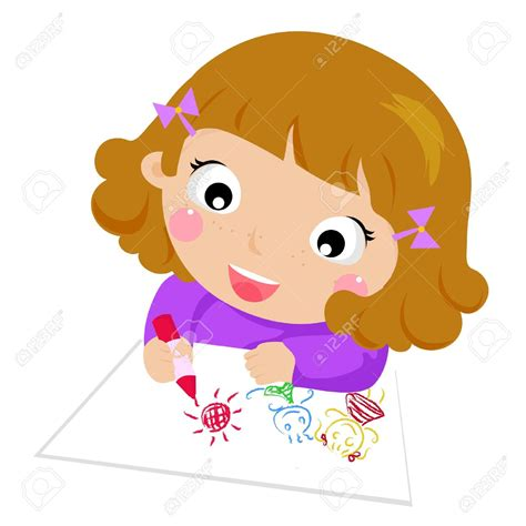 Drawn Child Cartoon Pencil And In Color Drawn Child Cartoon Kid Drawing Picture