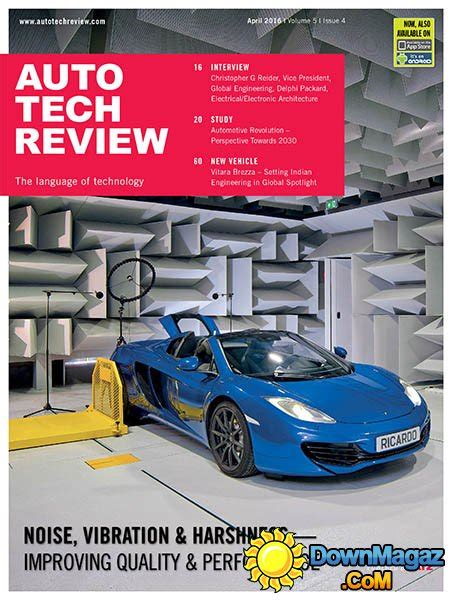 Auto Tech Review   April 2016 » Download PDF magazines