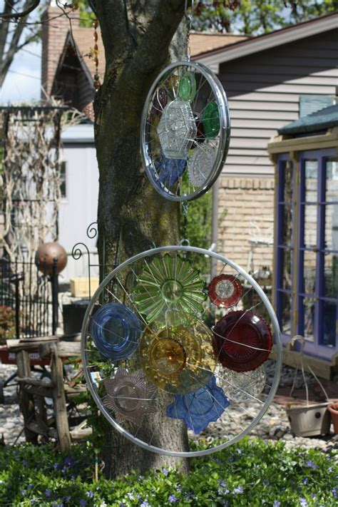 Gartendeko Aus Glas by Kreative Gartenideen Deko Aus Altem Fahrrad Selber Machen