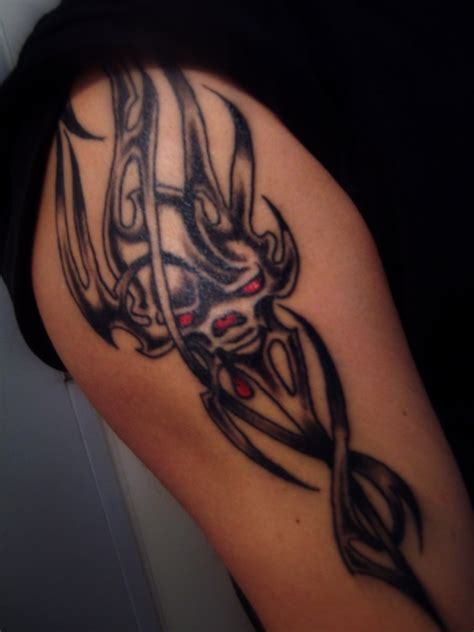 devil tribal tattoo 31 tribal tattoos for which are creativefan