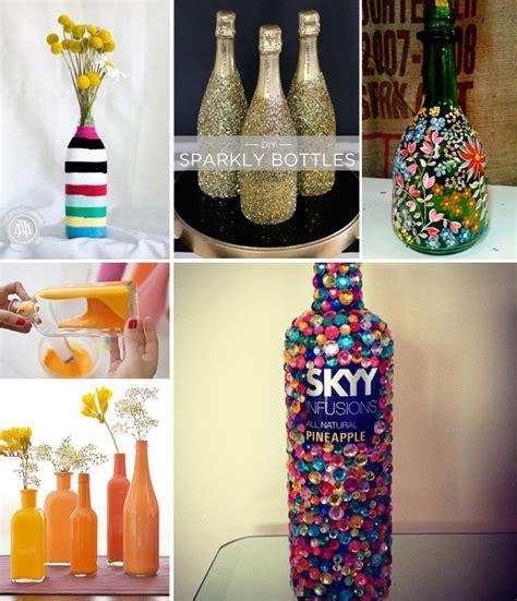 aus flaschen vasen machen diy alte flaschen zu neuem leben erwecken drinks