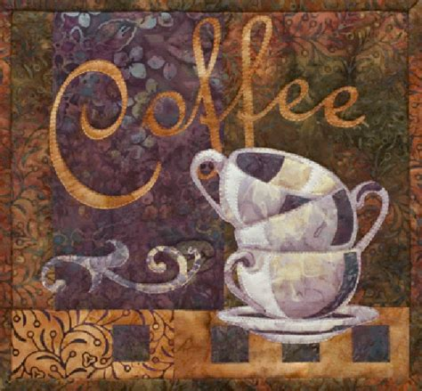 Coffee Quilt Pattern by Mckenna Just Coffee Quilt Pattern Coffee By