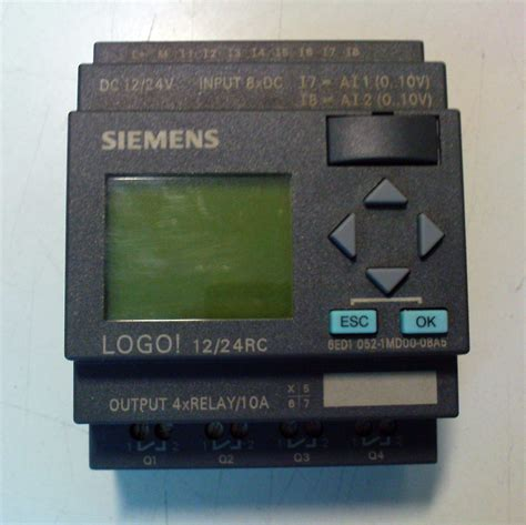 siemens logo coding electrician programming exle of the small plc siemens