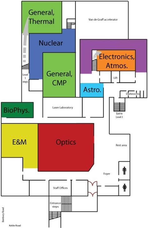 physics lab floor plan teaching facilities of oxford department of