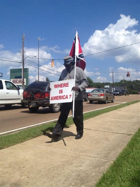 why i wave the confederate flag written by a black man black pro confederate anthony hervey killed in car crash
